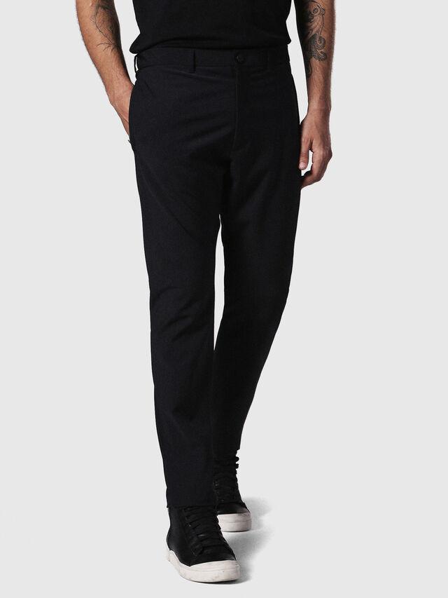 Diesel - P-OLIVERY, Noir - Pantalons - Image 3