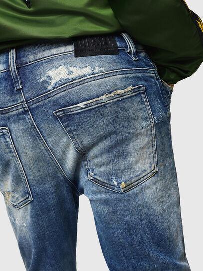 Diesel - D-Reeft JoggJeans 0870Q, Bleu moyen - Jeans - Image 5