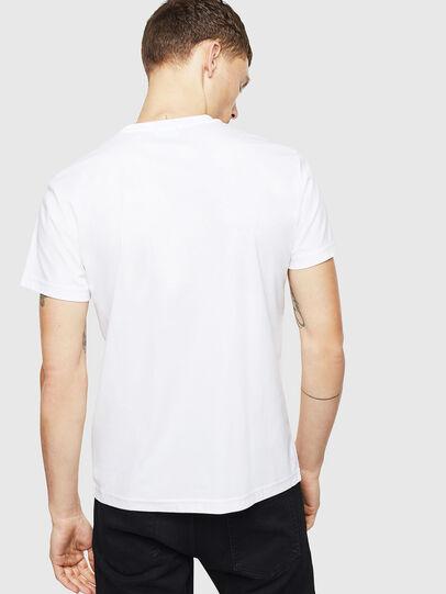 Diesel - T-DIEGO-J8, Blanc - T-Shirts - Image 3