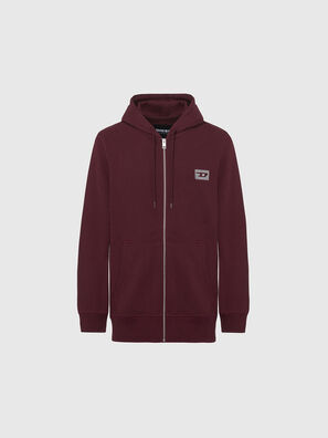UMLT-BRANDON-Z, Bordeaux - Pull Cotton