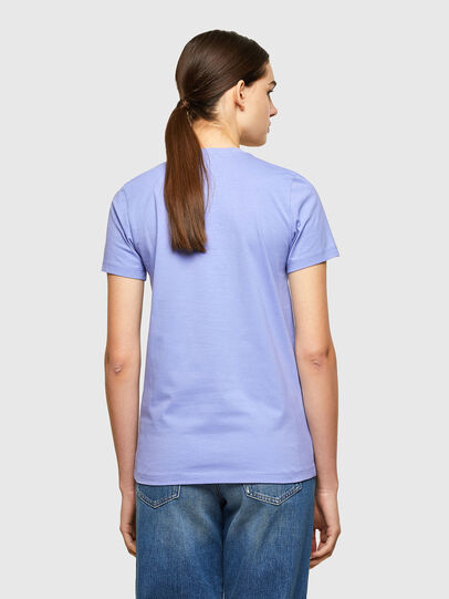 Diesel - T-SILY-WX, Lilas - T-Shirts - Image 2