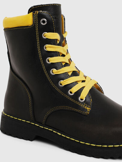 Diesel - HB LACE UP 04 YO, Noir - Footwear - Image 4