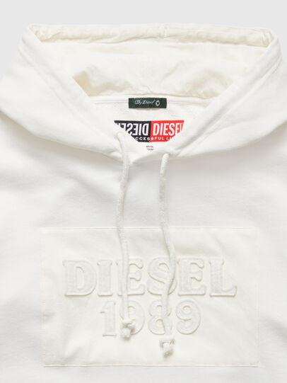 Diesel - DxD-21, Blanc - Pull Cotton - Image 3