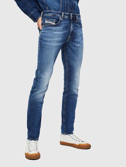 Diesel - Thommer 0097W, Bleu Foncé - Jeans - Image 1