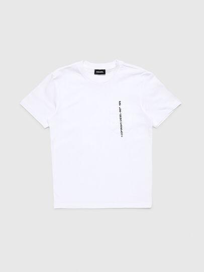 Diesel - TJUSTPOCKETCOPY, Blanc - T-shirts et Hauts - Image 1