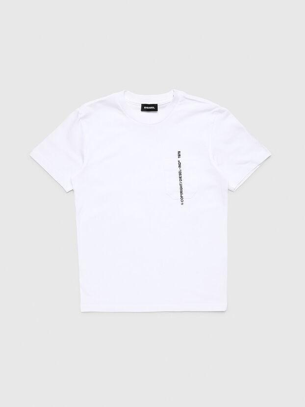 TJUSTPOCKETCOPY, Blanc - T-shirts et Hauts