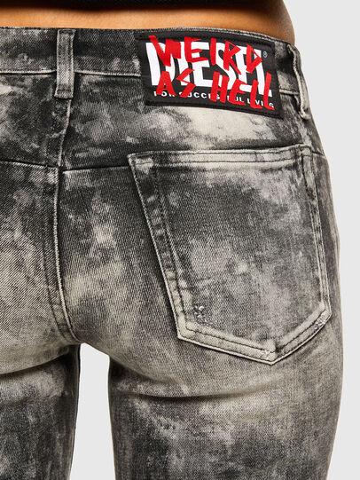 Diesel - D-Jevel 009FG, Gris Clair - Jeans - Image 4