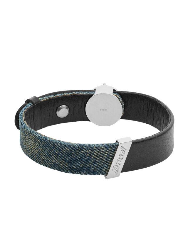 Diesel - BRACELET DX1029, Jean Bleu - Bracelets - Image 1