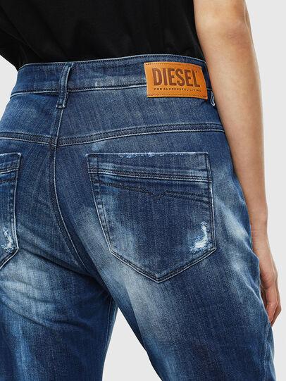 Diesel - Fayza JoggJeans 0099S, Bleu Foncé - Jeans - Image 5