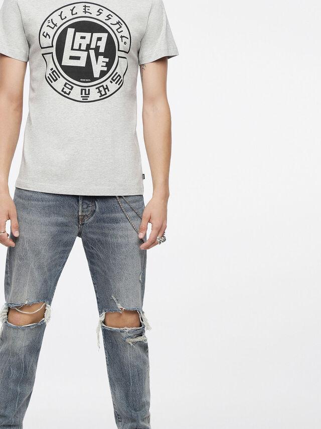 Diesel - T-DIEGO-XC, Mélange Léger - T-Shirts - Image 3