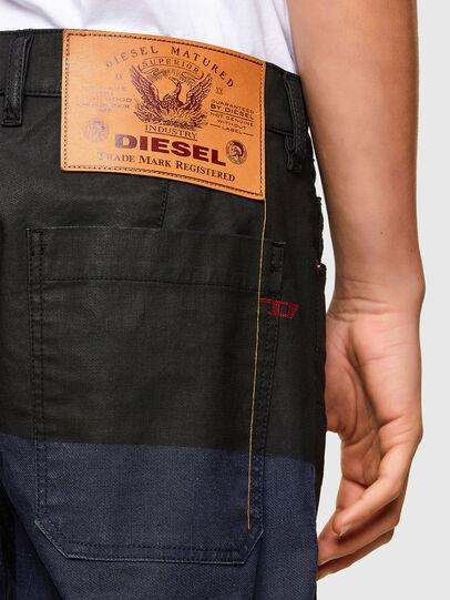 Diesel - D-Azerr JoggJeans® 0DDAY, Bleu Foncé - Jeans - Image 4