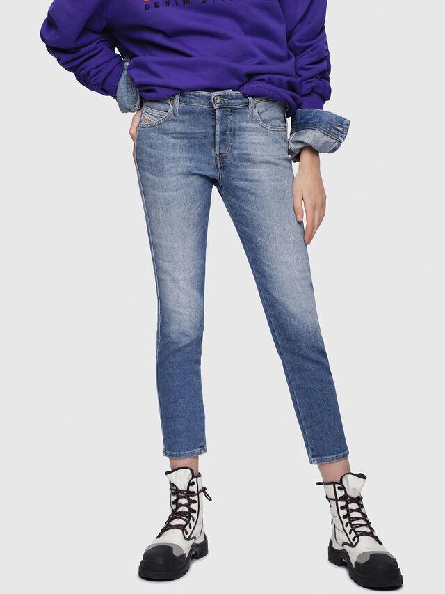 Diesel Babhila 084PR, Bleu Clair - Jeans - Image 1