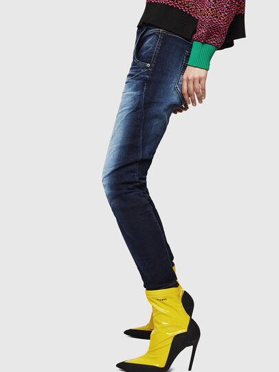 Diesel - Fayza JoggJeans 069IE, Bleu Foncé - Jeans - Image 5