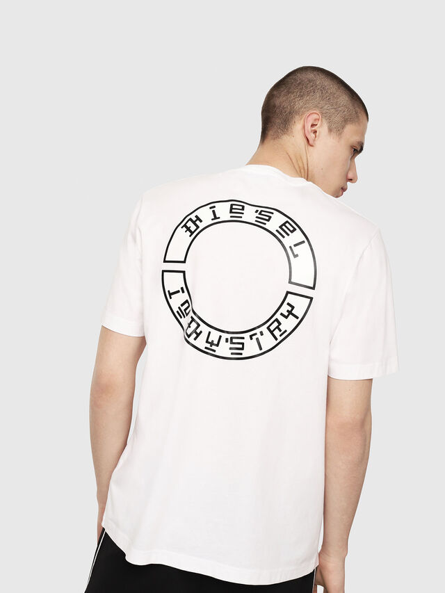Diesel - T-JUST-Y13, Blanc - T-Shirts - Image 2