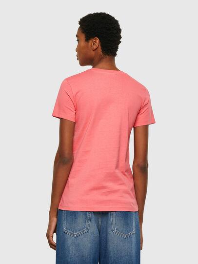 Diesel - T-SILY-COPY, Rose Poudré - T-Shirts - Image 2