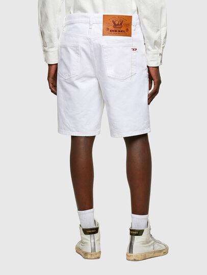 Diesel - D-STRUKT-SHORT, Blanc - Shorts - Image 2