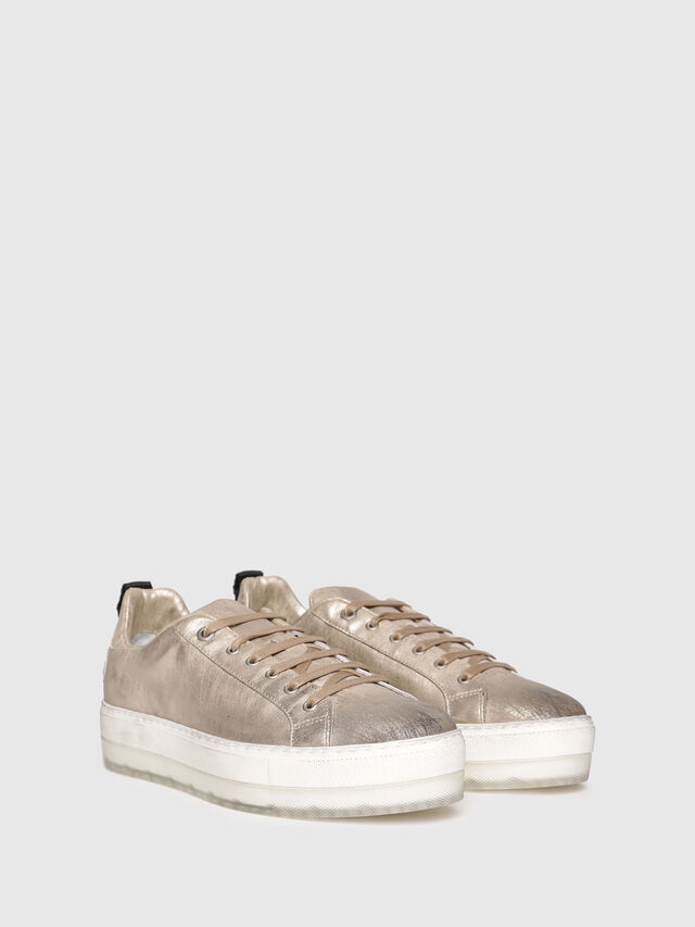 Diesel - S-LENGLAS LOW LACE, Or - Baskets - Image 2