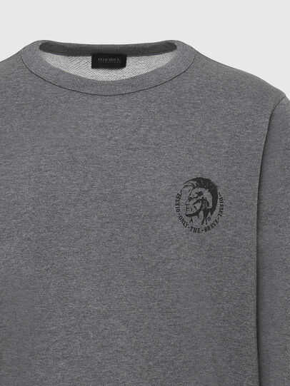 Diesel - UMLT-WILLY, Gris Chiné - Pull Cotton - Image 3
