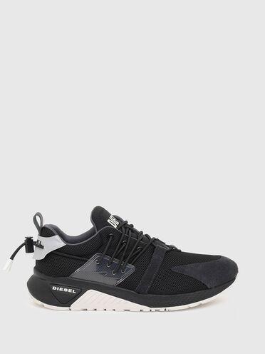 Sneakers sans lacets en mesh et lycra