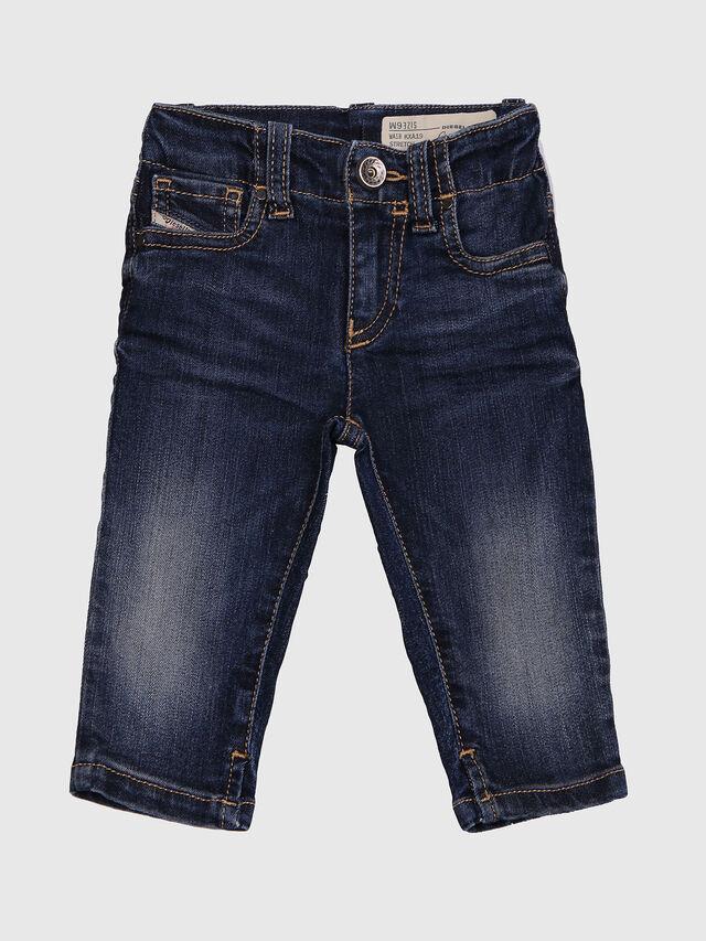 Diesel - GRUPEEN-B, Bleu Foncé - Jeans - Image 1