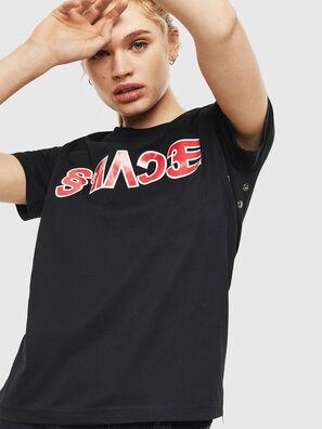T-SILY-WO, Noir - T-Shirts