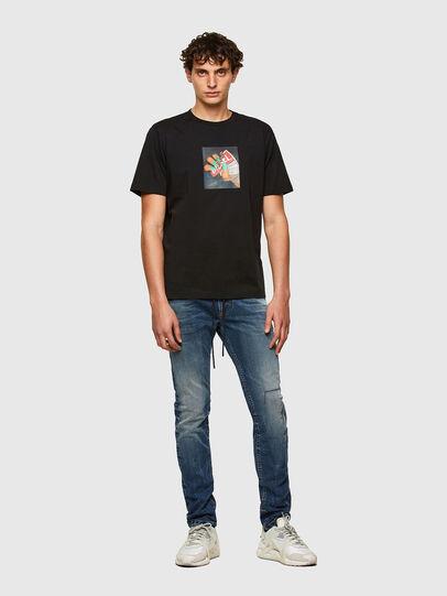 Diesel - Thommer JoggJeans® 069SZ, Bleu Foncé - Jeans - Image 5