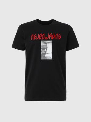 T-IEGO, Noir - T-Shirts