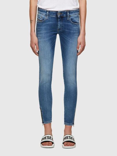 Diesel - Slandy Low 069ST, Bleu Clair - Jeans - Image 1