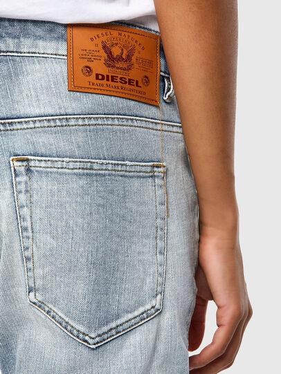 Diesel - Fayza 009TP, Bleu moyen - Jeans - Image 4