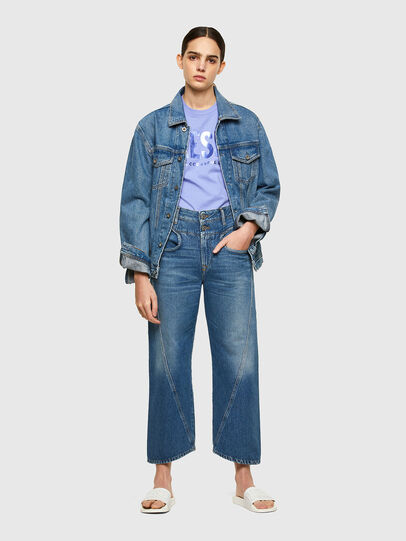 Diesel - T-SILY-WX, Lilas - T-Shirts - Image 4