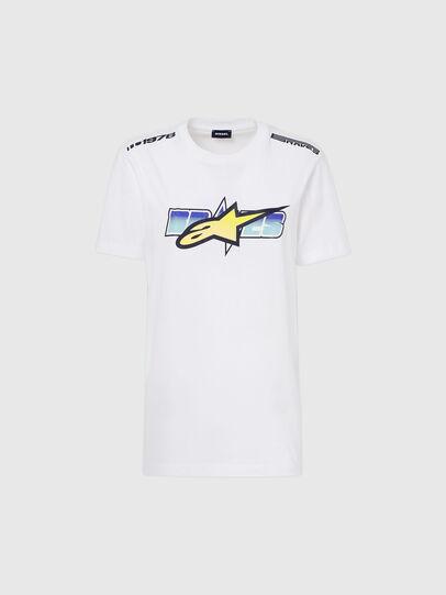 Diesel - ASTARS-T-DIEGOS-B-FL, Blanc - T-Shirts - Image 4