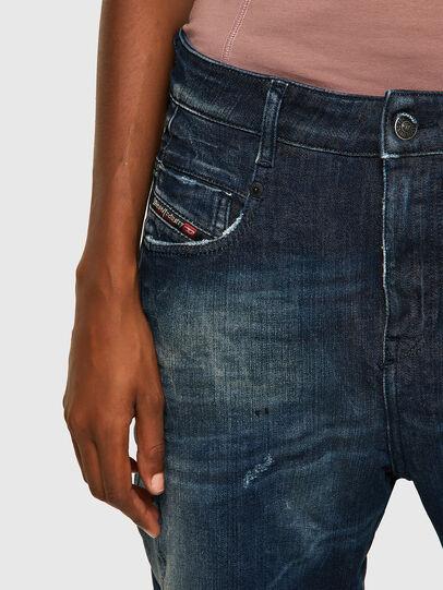 Diesel - Fayza JoggJeans® 09B50, Bleu Foncé - Jeans - Image 3