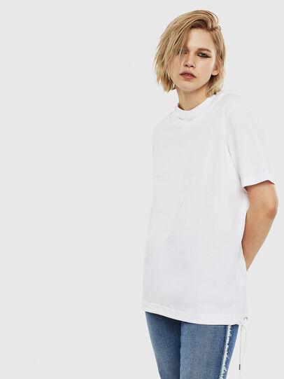 Diesel - T-HUSTY, Blanc - T-Shirts - Image 3