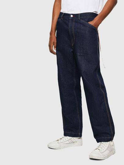 Diesel - CC-D-FRANK, Bleu Foncé - Pantalons - Image 1