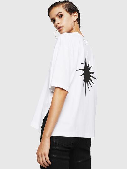 Diesel - TELIX-A, Blanc - T-Shirts - Image 2
