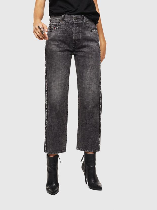 Aryel 0096I, Noir/Gris foncé - Jeans