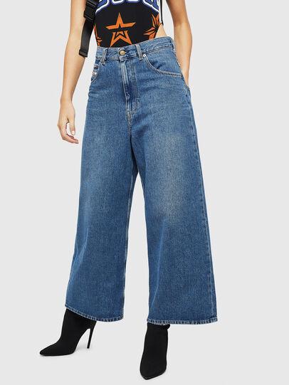 Diesel - D-Luite 080AN, Bleu moyen - Jeans - Image 1