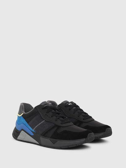 Diesel - S-BRENTHA FLOW, Noir/Bleu - Baskets - Image 2