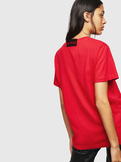 Diesel - LCP-T-DIEGO-LISBOA, Rouge - T-Shirts - Image 4