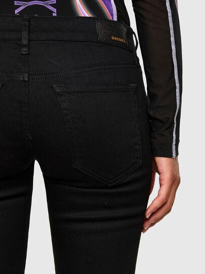 Diesel - Slandy Low 069EF, Noir/Gris foncé - Jeans - Image 4