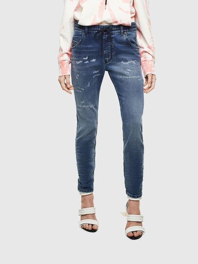 Diesel - Krailey JoggJeans 069LW, Bleu Foncé - Jeans - Image 1
