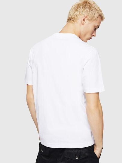 Diesel - T-JUST-DIVISION-D, Blanc - T-Shirts - Image 2