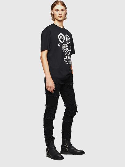 Diesel - TEORIALE-X2, Noir - T-Shirts - Image 6