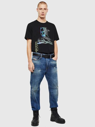Diesel - D-Macs 0097I, Bleu moyen - Jeans - Image 7