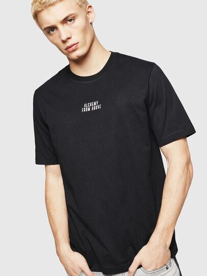 Diesel - T-JUST-A8, Noir - T-Shirts - Image 1