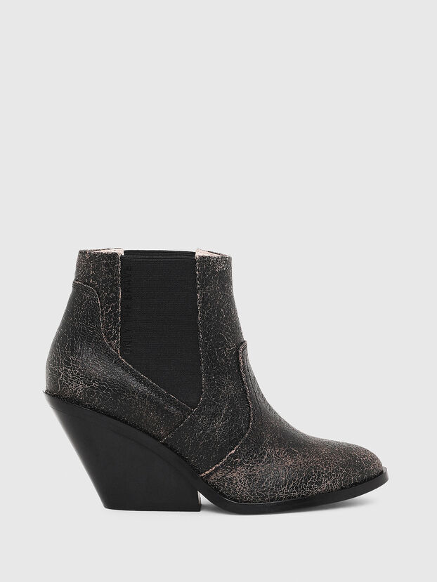 D-FLAMINGO CB, Anthracite - Bottines