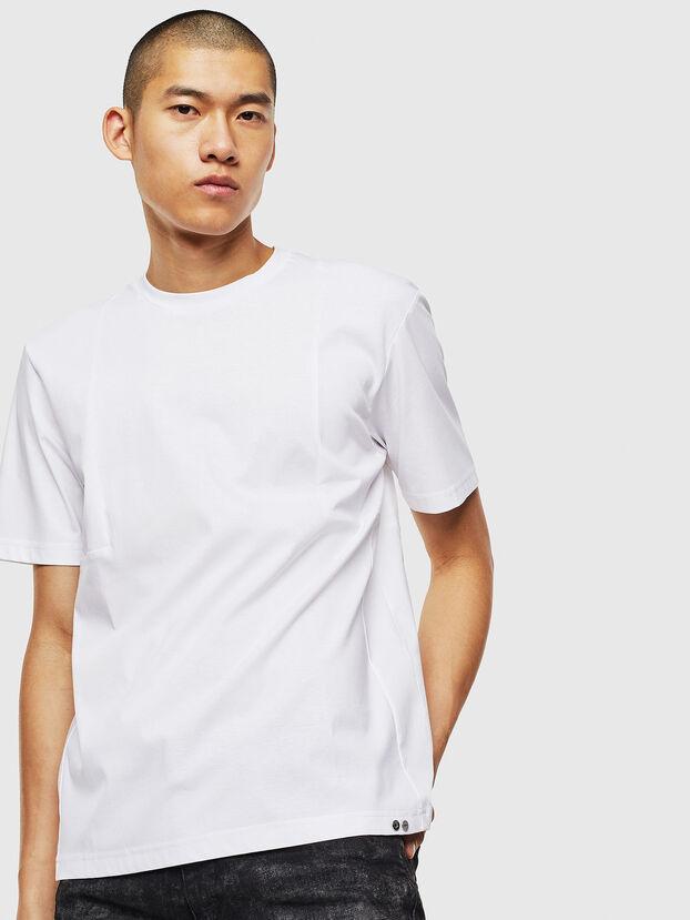 T-TOMI, Blanc - T-Shirts