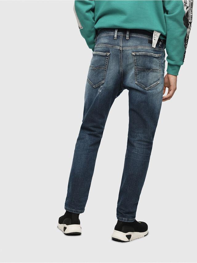 Diesel - Narrot JoggJeans 087AK, Bleu Foncé - Jeans - Image 2