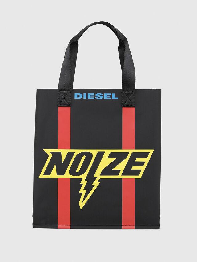 Diesel - BILLBOARD SHOPPER, Noir/Jaune - Sacs - Image 1