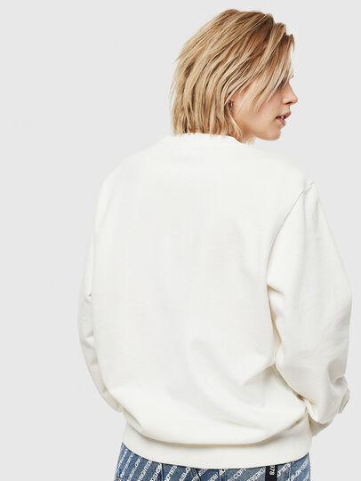 Diesel - S-GIRK-WORK, Blanc - Pull Cotton - Image 4